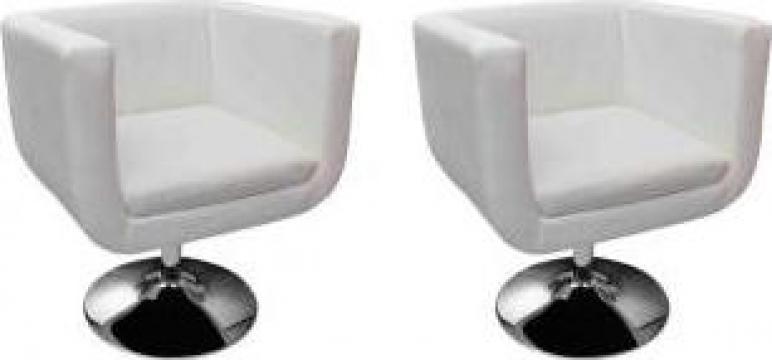 Fotolii cub alb, 2 buc.