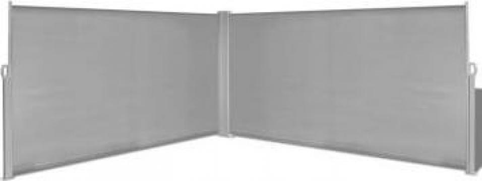 Copertina laterala retractabila 160 x 600 cm, gri