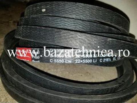 Curea de transmisie trapezoidala 22x5500 mm Li, Rubena de la Baza Tehnica Alfa Srl