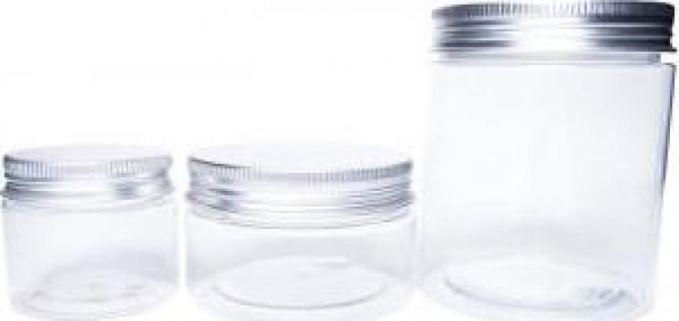 Borcan plastic cu capac si protectie 30, 50, 100 si 250 ml de la Biogreen Plant Srl