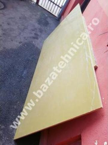 Placa sticlotextolit 15x1000x2000 mm, 61 kg de la Baza Tehnica Alfa Srl