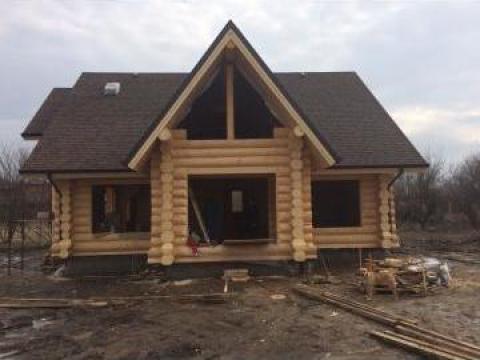 Casa Din Lemn Rotund Sergiu Falticeni Log Homes S R L Id 16372572