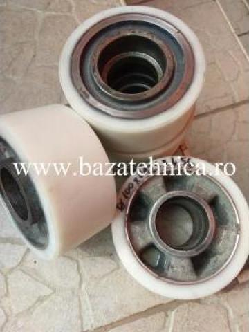 Incarcare poliuretan rola fi 100x fi 125 x h 56 mm de la Baza Tehnica Alfa Srl
