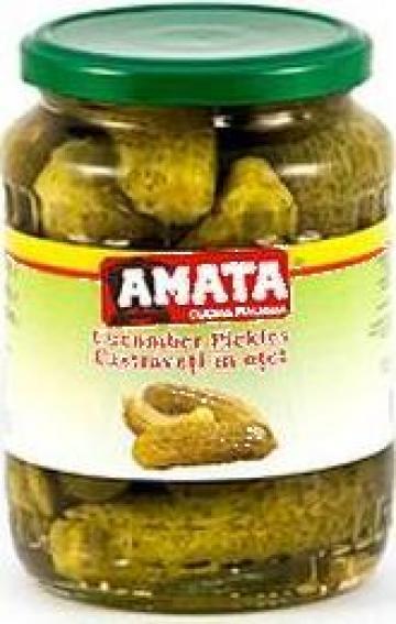 Conserva castraveti in otet Amata de la S.c. Italin Gross Impex S.r.l.