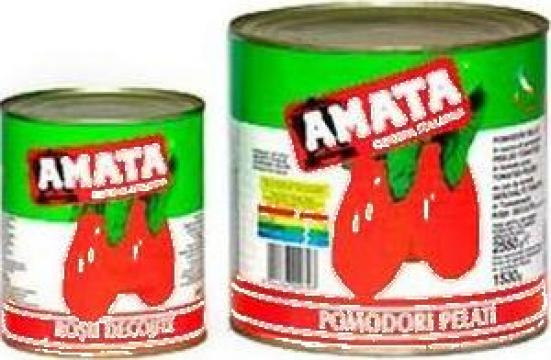 Conserva rosii decojite Amata