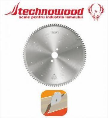 Panza circulara pentru taiere precisa in unghi de la Technowood Srl