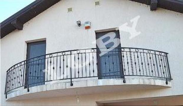 Balcon si terasa din fier forjat de la Loby Design