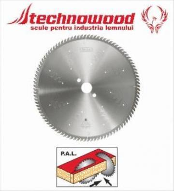 Panze circulare pentru debitare PAL de la Technowood Srl