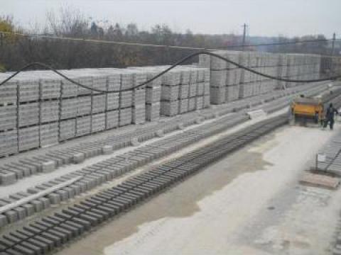 Borduri beton 50x10x15 de la N A D. Cornetu