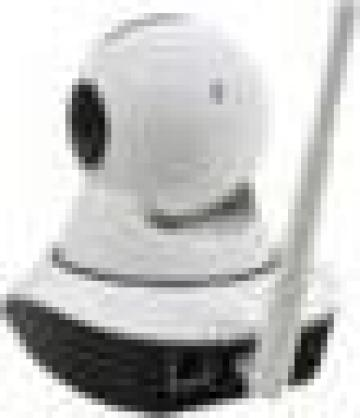 Camera de supraveghere video robotizata - rotire din telefon