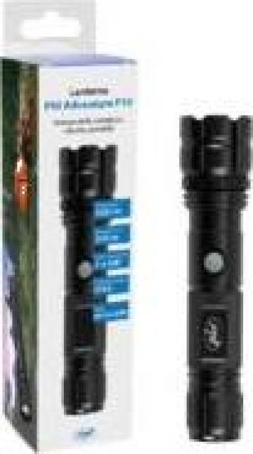 Lanterna PNI Adventure F10 din aluminiu cu led 500lm de la Electro Supermax Srl