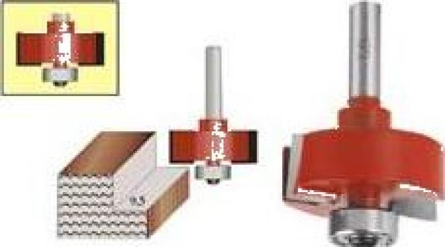 Freza pentru falt + rulment 7904-011 de la Nascom Invest