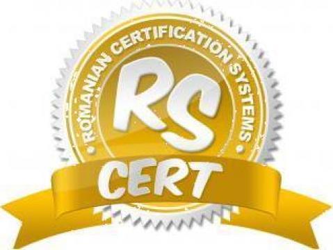 Certificare HACCP de la Rs Cert - Romanian Certification Systems
