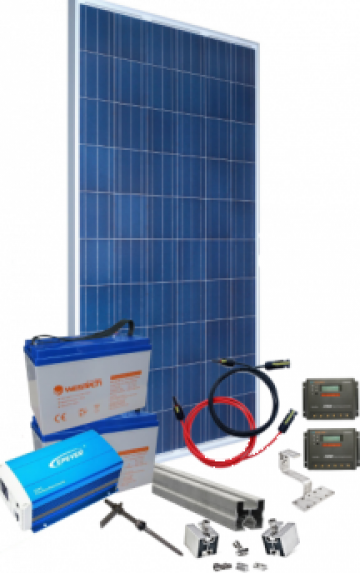Kit fotovoltaic 1,5kW de la SC Pulsar SRL