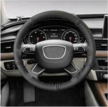 Husa volan neagra piele de la Alex & Bea Auto Group Srl