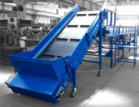 Banda transportoare din cauciuc de la Filgreen Recycling