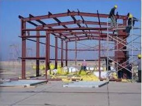 Hale metalice din teava rotunda de la Sc Media Steel Srl