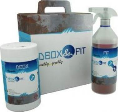 Servetele indepartat rugina pentru suprafete inox Deox Fit de la Bendis Welding Equipment Srl