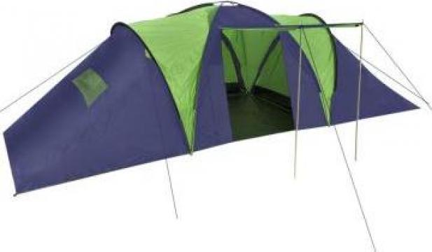 Cort camping din material textil, 9 persoane de la Vidaxl
