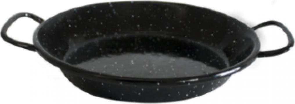 Minitigaie paella servire emailata Valenciana Ilsa 15cm de la Basarom Com