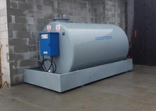 Rezervor metalic motorina 5000 litri pompa 220 Piusi Italia de la Simba's Group Srl