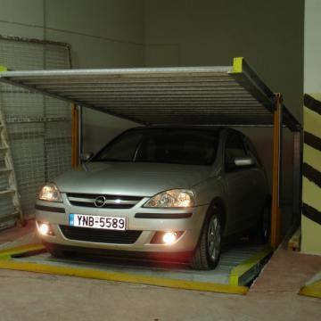 Sisteme de parcare hidraulice D200, D-400 de la Atlas Elevators