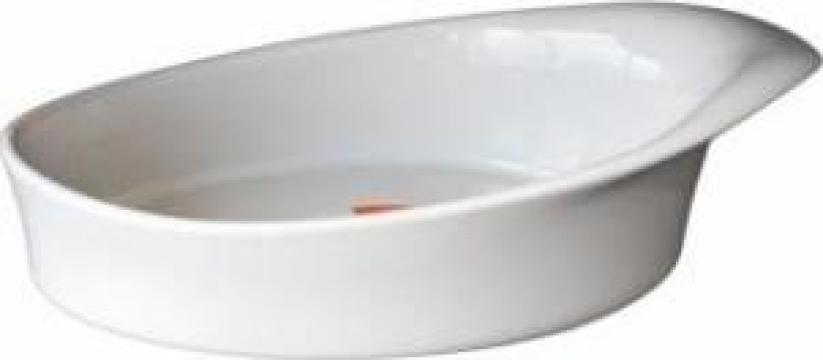 Platou oval ceramica Vista Alegre Hotspot 22x6,8cm de la Basarom Com