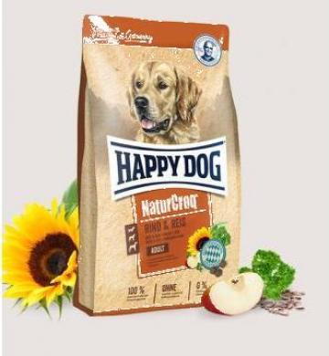 Hrana caini Happy Dog adult vita si orez