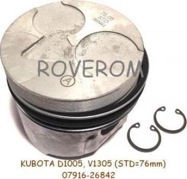 Piston kit STD Kubota D1005, V1305 (76mm)