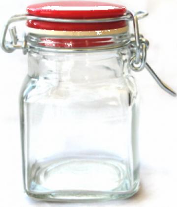 Sticla cu capac ermetic 120ml