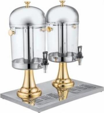 Dispenser, dozator dublu pentru suc aurit Raki de la Basarom Com