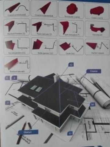 Accesorii pentru acoperisuri de la Sidexpert Steel Srl