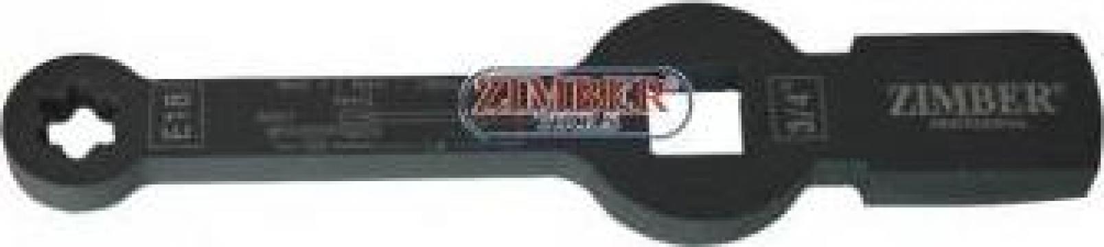 Cheie inelara Torx E18 impact pentru etrier camioane MAN de la Zimber Tools
