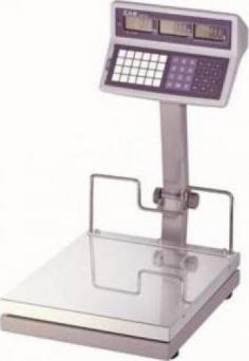 Cantar platforma de cantarire CAS-EB-S-capacitate 30-60 kg de la Electro Supermax Srl