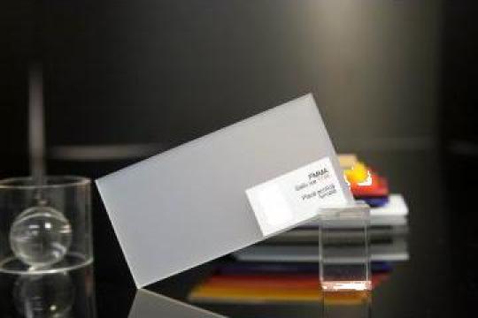 Plexiglas 3mm satinat de la Geo & Vlad Com Srl