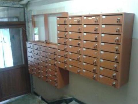 Cutii postale 60 apartamente de la Corban Mobila Srl