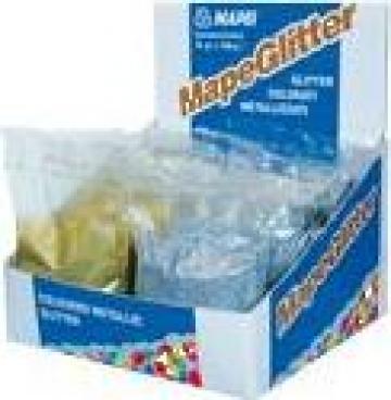 Fulgi colorati metalizati Mapeglitter