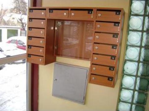 Cutii postale 15 apartamente de la Corban Mobila Srl