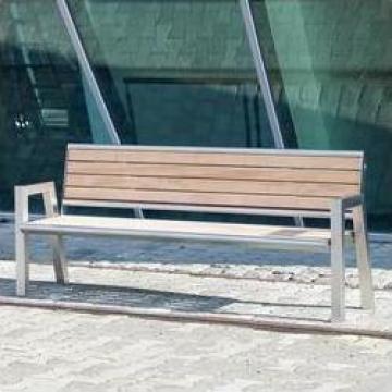 Banca moderna pentru parcuri si alei C49.6 de la Sc City Park Srl