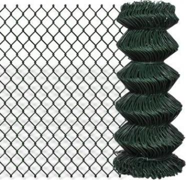Gard lant 0,8 x 15 m, verde