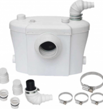 Pompa cu tocator wc Sanitrit H400 de la Pro Mar Shop & Services SRL