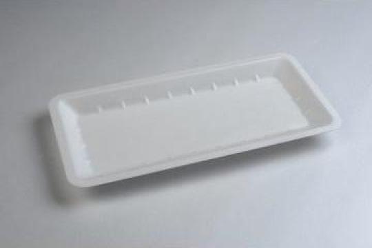 Tavita polistiren PT75 STD (275x135x20mm) 500 buc/bax de la Cristian Food Industry Srl.