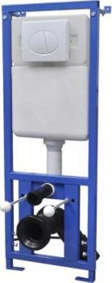 Rezervor inalt incastrat 11 L 41x14x(110-125) cm de la Vidaxl