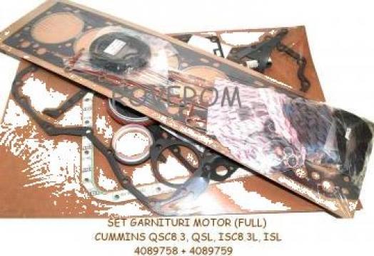 Set garnituri motor Cummins QSC8.3, QSL, ISC8.3L, ISL