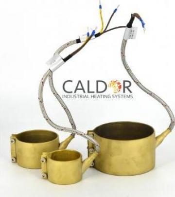 Rezistenta electrica duza 40 x 55 x 350w de la Caldor Industrial Heating Systems Srl