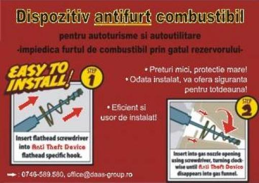 Antifurt motorina Mercedes, Fiat, Iveco, Citroen, Ford de la Daas Group Srl