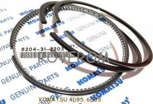 Segmenti piston Komatsu 4D95L, 6D95L, 95mm, 2x2x4mm