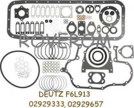 Garnituri motor Deutz F6L913 (6 cilindrii) de la Roverom Srl