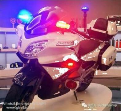 Girofar motocicleta de la Tehnic & Emergency Light Srl