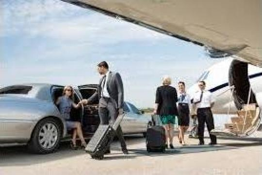 Preluare din aeroport cu limuzina